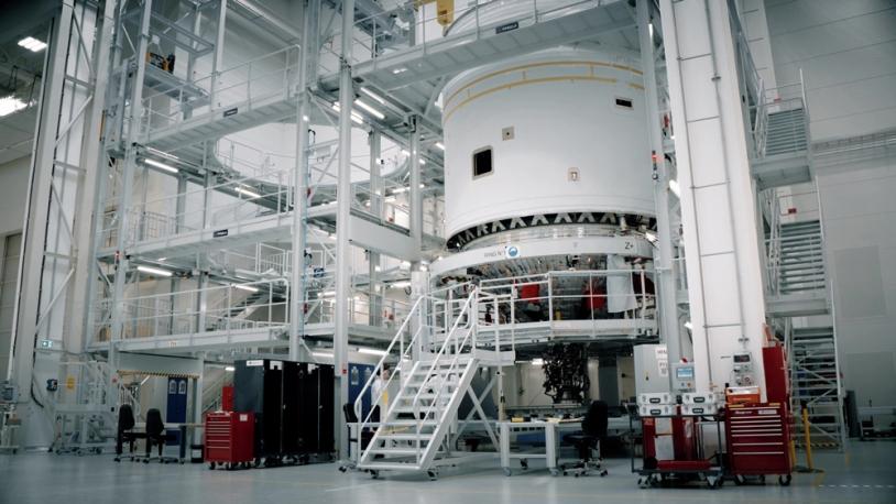 Usine d'assemblage étage supérieur cryotechnique ULPM, Brème